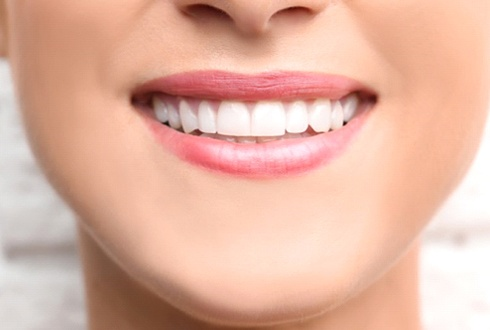 close up person smiling